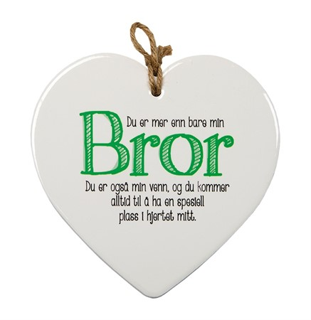 "MESSAGE HEART ""BROR"" (N) (3)"