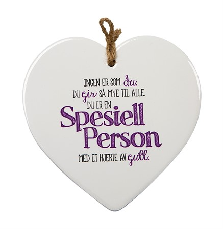 "MESSAGE HEART ""SPESIELL"" (N) (3)"