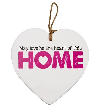 "MESSAGE HEART ""HOME"" (3)"