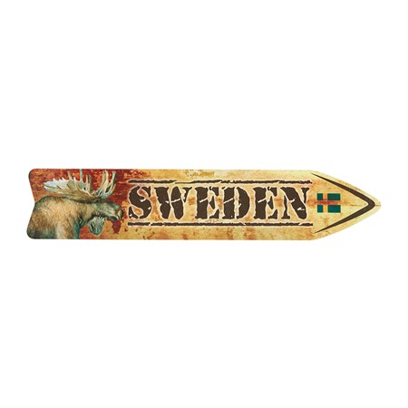 SOUVENIR SIGN SWEDEN MOOSE