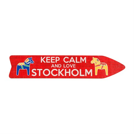 SOUVENIR SIGNS KEEP CALM AND LOVE STHLM