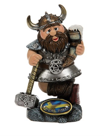 VIKING WITH HAMMER AND HORN (S)