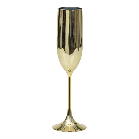 CHAMPAGNE GLASS GOLD