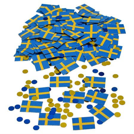 CONFETTI FLAGS SWEDEN (6)