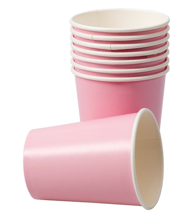 PAPER CUPS PINK 8-P (6)