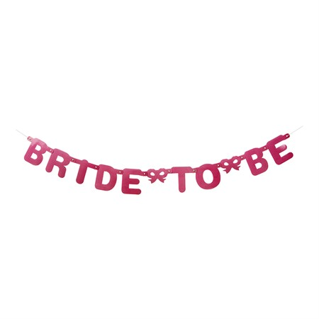 BANNER BRIDE TO BE PINK (3)