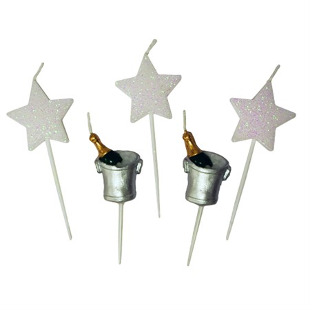 TOOTHPICK CANDLES CELEBRATE (6)