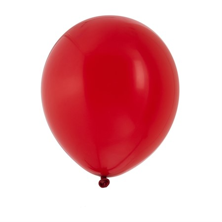 "BALLOONS 12"" RED 10-P (6)"