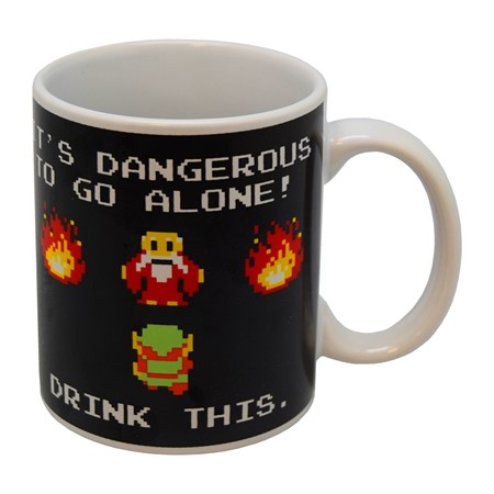 MUG THE LEGEND OF ZELDA (DRINK THIS)