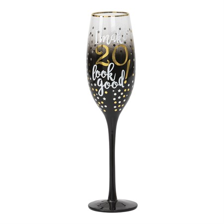 CHAMPAGNE GLASS 20