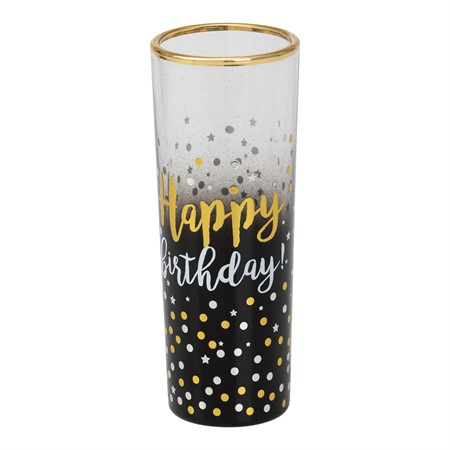 SHOT GLASS HAPPY BIRTHDAY