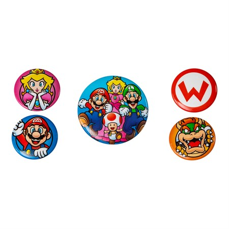 BADGEPACK SUPER MARIO