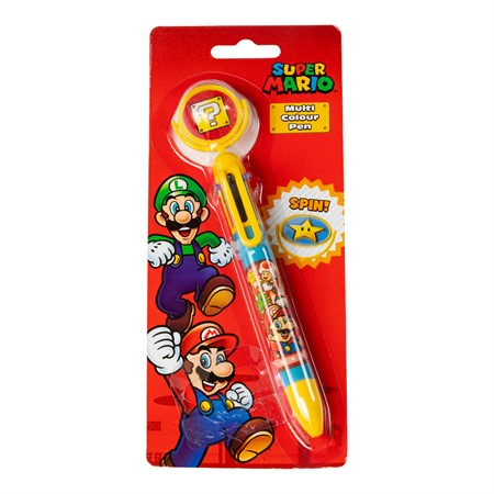 MULTI COLOUR PEN SUPER MARIO