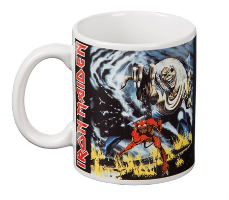 MUG IRON MAIDEN NUMBER OF THE BEAST