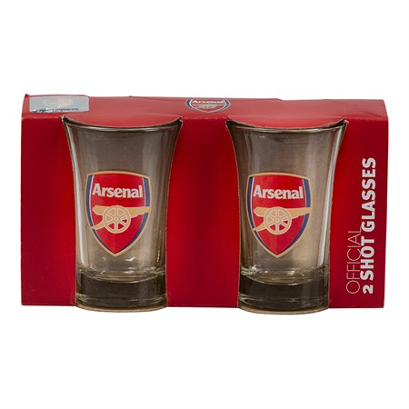SHOTGLASS 2-PACK ARSENAL