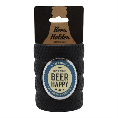 BEER HOLDER DON'T WORRY BEER HAPPY