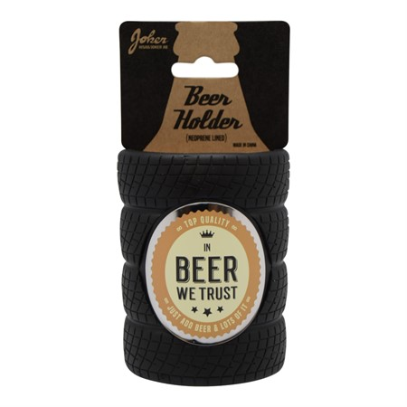 BEER HOLDER IN BEER WE TRUST