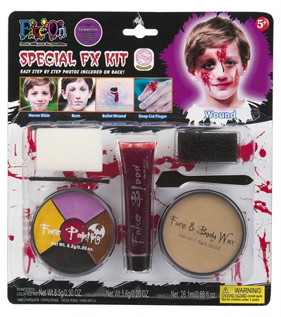 KID MAKE UP SPECIAL EFFECTS KIT (6)