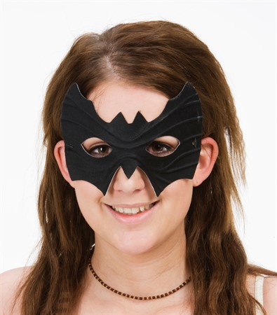 BATMAN MASK SVART  (10)