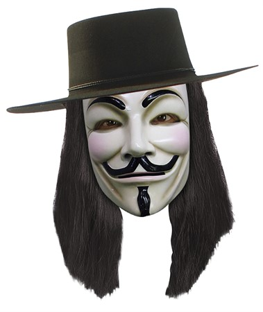 LICENSMASK  V FOR VENDETTA