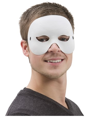 HALF FACE EYE MASK WHITE (6)
