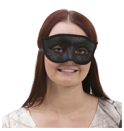 VENETIAN HALF FACE EYE MASK MALE