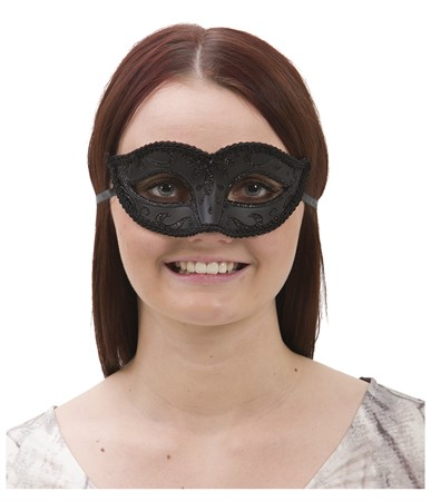VENETIAN HALF FACE EYE MASK FEMALE