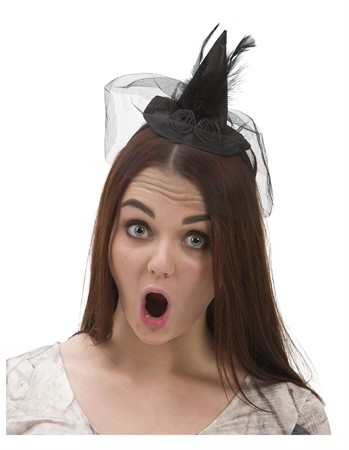 WITCH HAT HEAD BAND