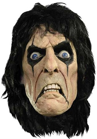 LATEXMASK ALICE COOPER