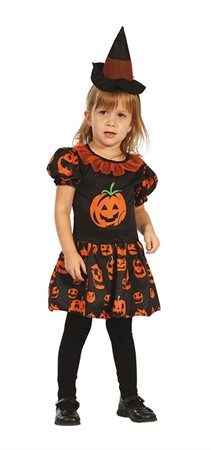 MASKERADDRÄKT MINI PUMPKIN DRESS 92-104