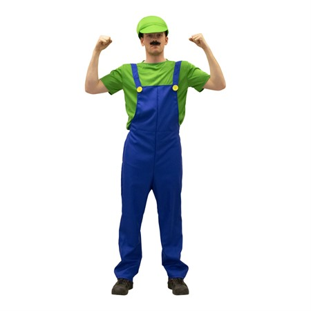 GREEN BOY PLUMBER ADULT S