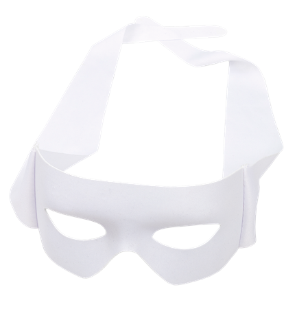 EYE MASK REVENGE WHITE (10)