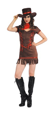 COW GIRL COSTUME