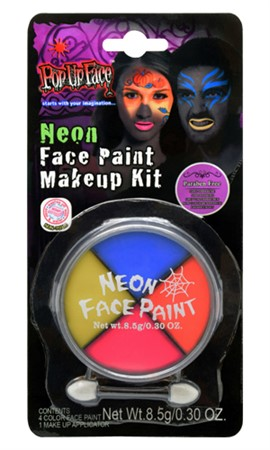 NEON FACE PAINT KIT (6)