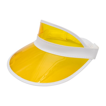 SUN VISOR CAP YELLOW (6)