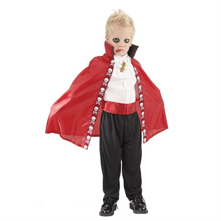 VAMPIRE CAPE RED KID
