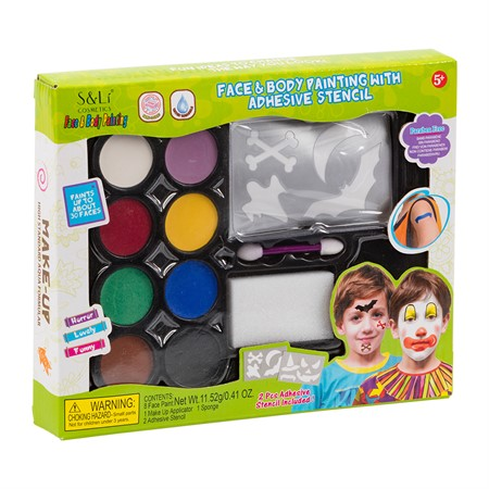 MAKE UP KIT W. STENCILS