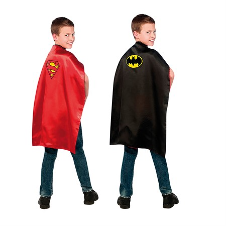 BATMAN/ SUPERMAN REVERSIBLE CAPE