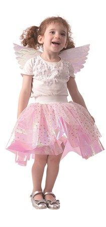 TUTU AND WINGS KID PINK