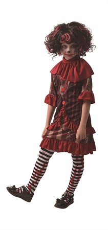 HORROR CLOWN DRESS 122-134