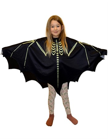 PONCHO SKELETON BAT KID GID