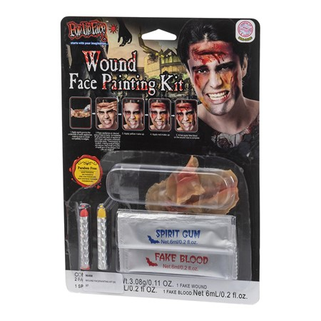 WOUND FACEPAINTING KIT (6)