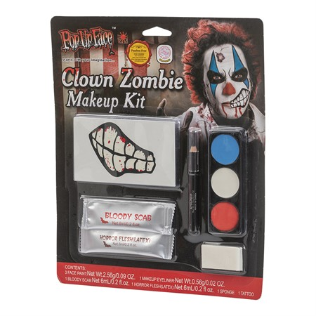 CLOWN ZOMBIE MAKE UP KIT (6)