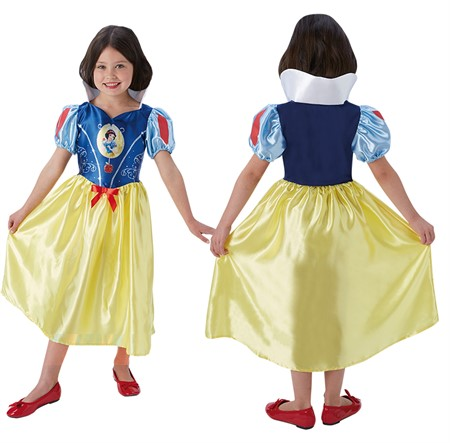 COSTUME RUBIES FAIRYTALE SNOW WHITE L