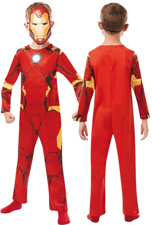 COSTUME RUBIES IRON MAN L