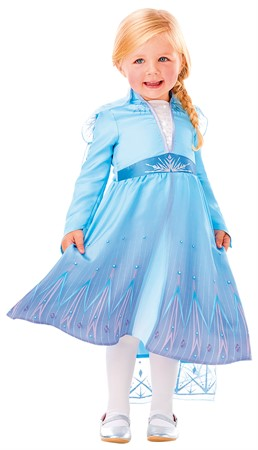 COSTUME RUBIES TODDLER ELSA TRAVEL DRESS