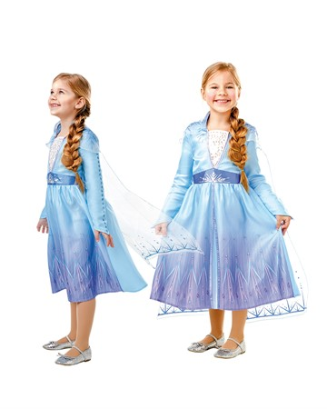 COSTUME RUBIES ELSA TRAVEL DRESS L