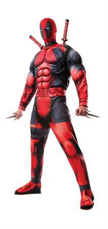 COSTUME RUBIES ADULT DEADPOOL DELUXE XL