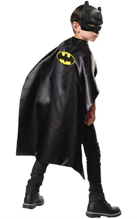 KIT RUBIES BATMAN MASK & CAPE