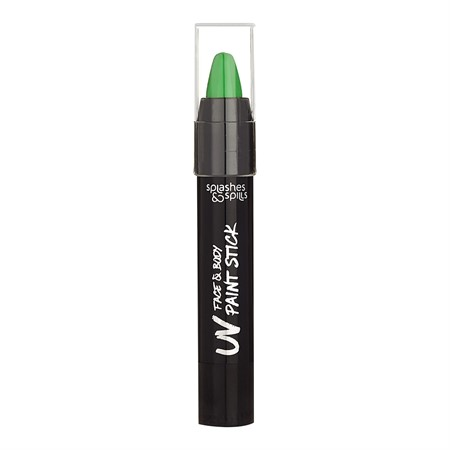 S&S UV FACE & BODY PAINT STICK GREEN